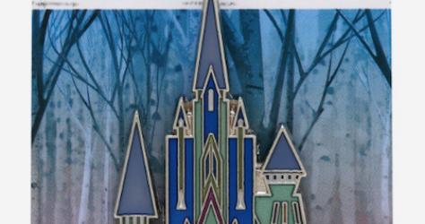 Arendelle Castle Frozen 2 BoxLunch Disney Pin