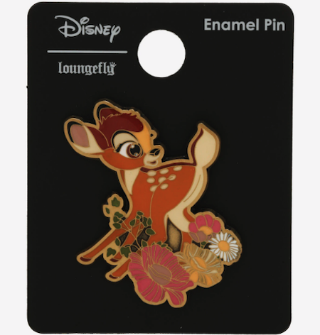 Bambi Floral BoxLunch Disney Pin