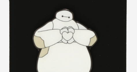 Big Hero 6 Baymax Heart Hands BoxLunch Disney Pin