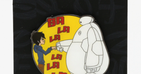 Big Hero 6 Fist Bump Hot Topic Disney Pin