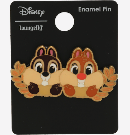 Chip 'n Dale Cheeks BoxLunch Disney Pin