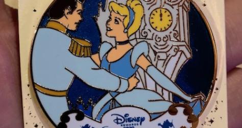 Cinderella 70th Anniversary Disney Visa 2020 Pin