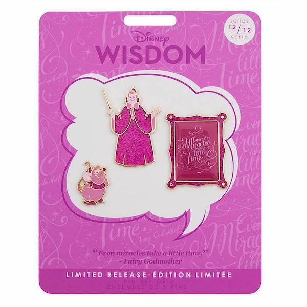 Cinderella Disney Wisdom Pin Set
