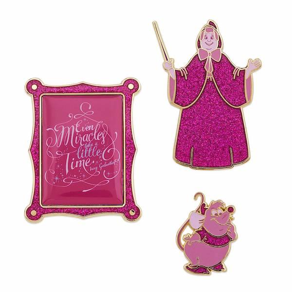 Cinderella Disney Wisdom Pins