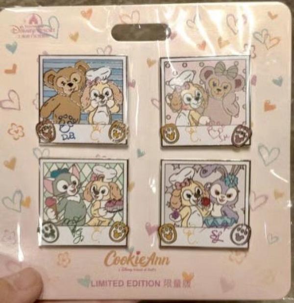 CookieAnn Booster Pin Set - Shanghai Disneyland