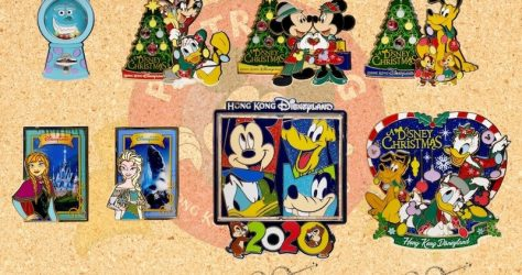 December 2019 HKDL Limited Edition Pin Releases