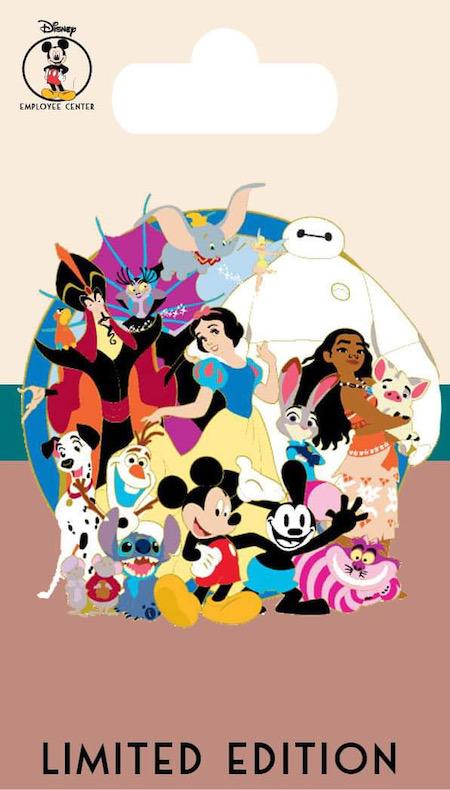 Disney Character Cluster - DEC Pin