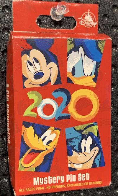 Disney Parks 2020 Mystery Pin Set