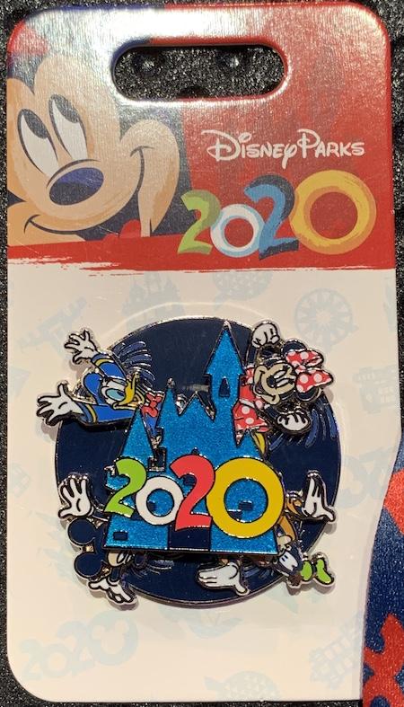 Disney Parks 2020 Spinner Pin