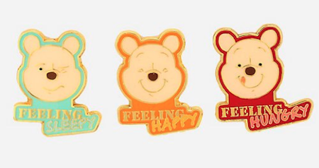 Disney Winnie the Pooh Mood BoxLunch Pin Set