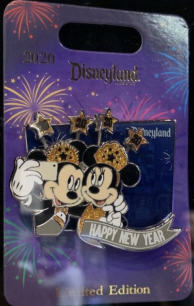 Disneyland Happy New Year 2020 Pin