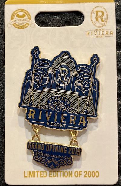Disney's Riviera Resort 2019 Grand Opening Pin