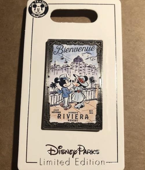 Disney's Riviera Resort Cast Member Pin