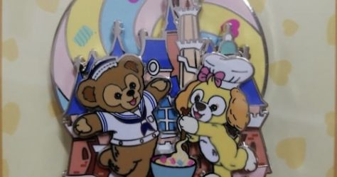 Duffy & CookieAnn 2019 Shanghai Disney Resort Pin