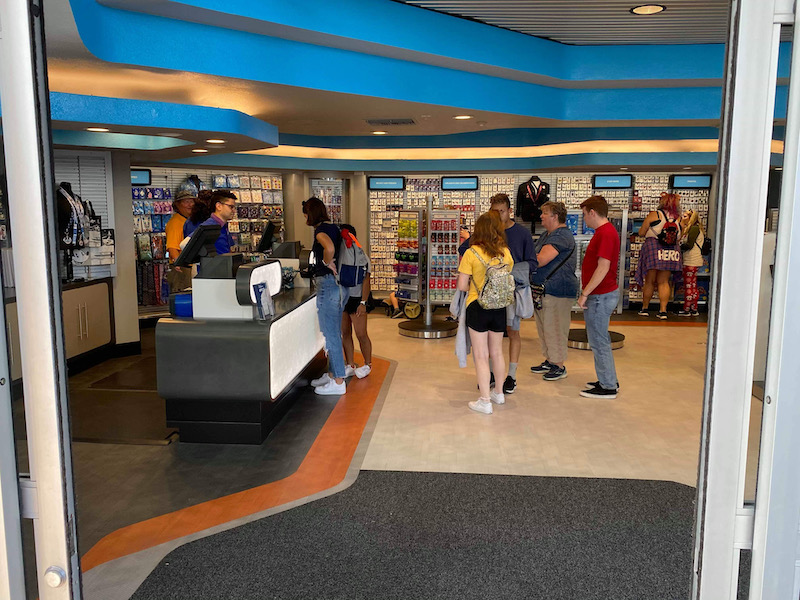 Entrance - Epcot Pin Traders Store