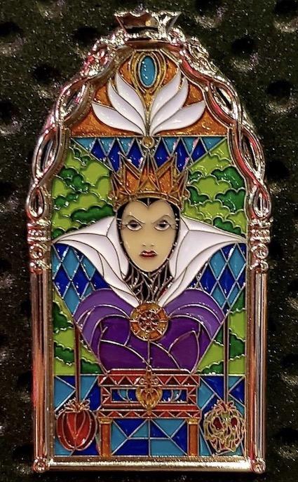 Evil Queen Windows of Evil Disney Pin