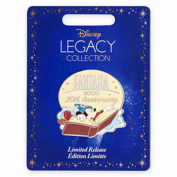 Fantasia 2000 20th Anniversary Limited Release Pin