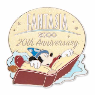 Fantasia 2000 20th Anniversary shopDisney Pin