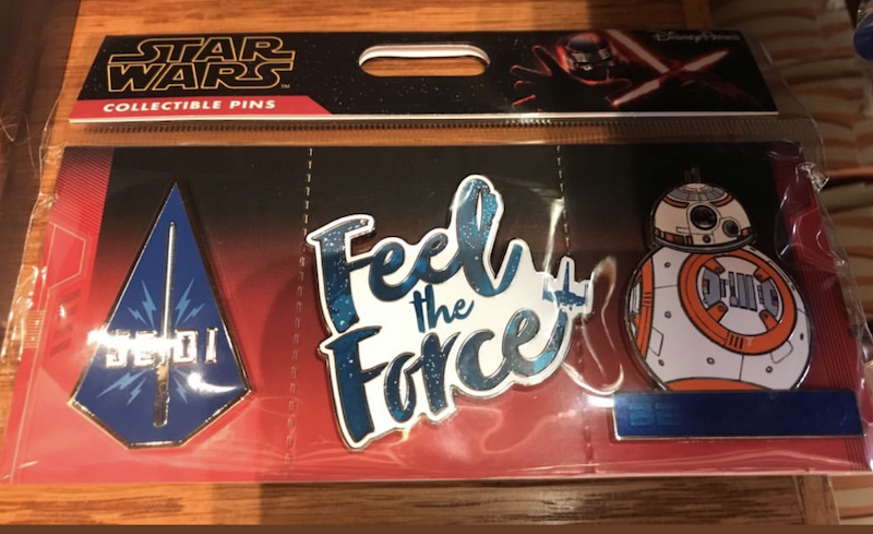 Feel the Force Star Wars Pin Set