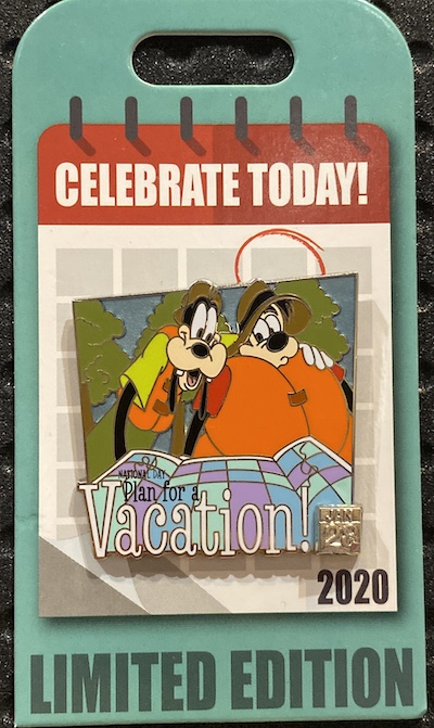 Goofy Celebrate Today Disney Pin