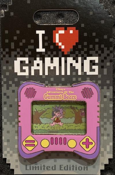 Gummi Bears I Heart Gaming Disney Pin