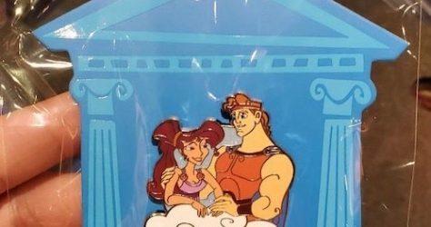 Hercules and Megara shopDisney Pin