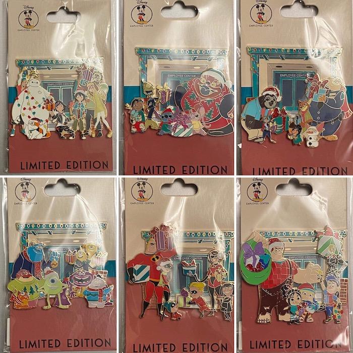 Holiday Shopping DEC Pins