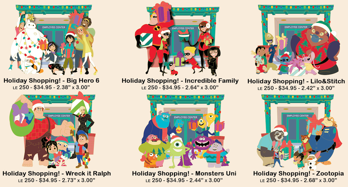 Holiday Shopping! Disney Employee Center Pins