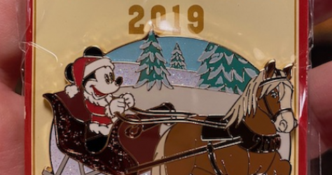 Holiday Sleigh Ride 2019 Pin