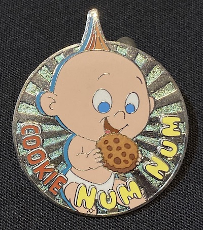 Jack Jack Scratch and Sniff Pin