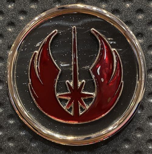 Jedi Symbol Star Wars The Rise of Skywalker Jumbo Pin