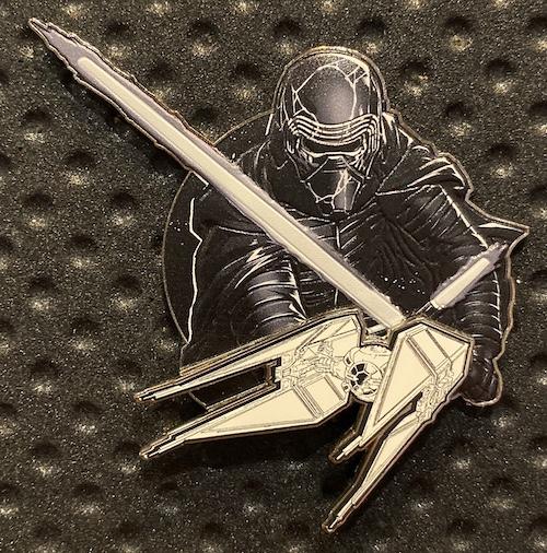 Kylo Ren Star Wars The Rise of Skywalker Jumbo Pin