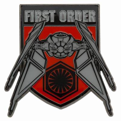 Kylo Ren TIE Fighter Star Wars The Rise of Skywalker Pin