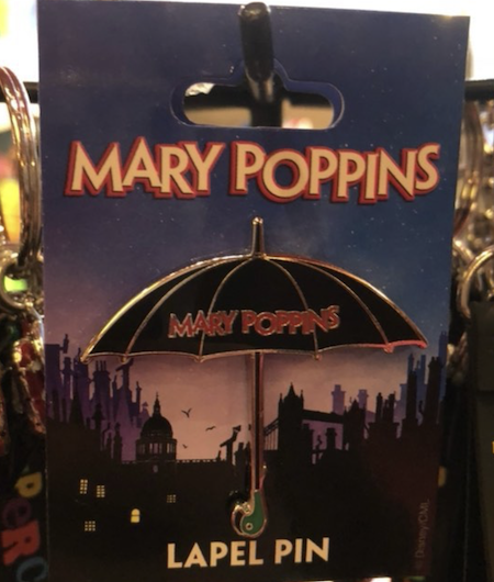 Mary Poppins West End Show Pin