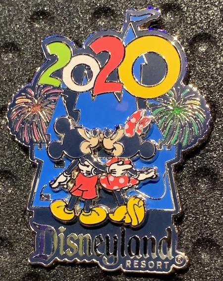 Mickey & Minnie 2020 Disneyland Pin