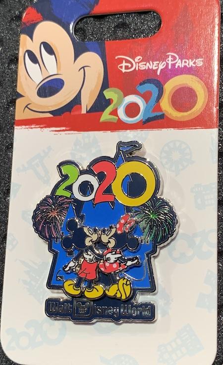 Mickey & Minnie 2020 Walt Disney World Pin