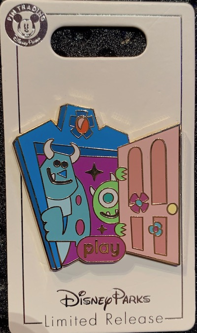 Monsters, Inc. Mike & Sulley to the Rescue! Play Disney Parks Pin