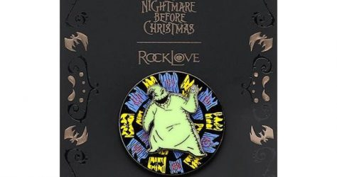 Oogie Boogie The Nightmare Before Christmas RockLove Pin