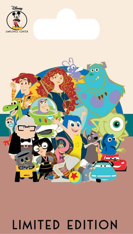 Pixar Character Cluster - DEC Pin