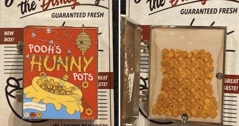 Pooh Cereal Boxes Disney Pin