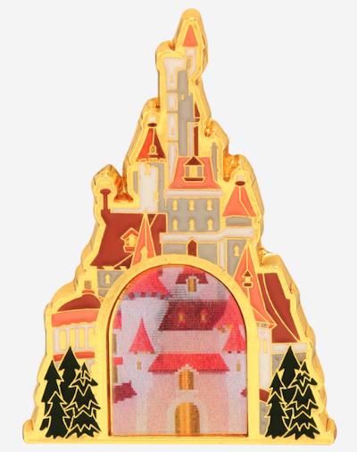 Princess Belle Castle BoxLunch Pin