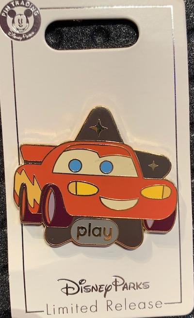 Radiator Springs Racer Play Disney Parks Pin
