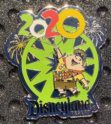 Russell 2020 Disneyland Pin