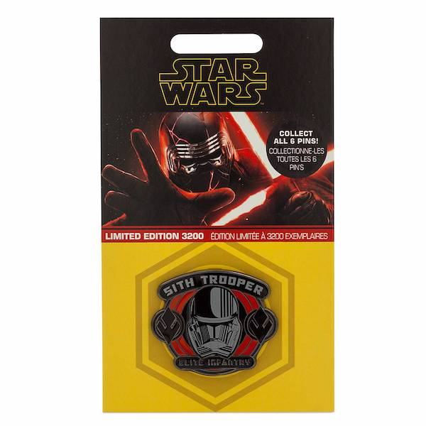 Sith Trooper Star Wars The Rise of Skywalker shopDisney Pin