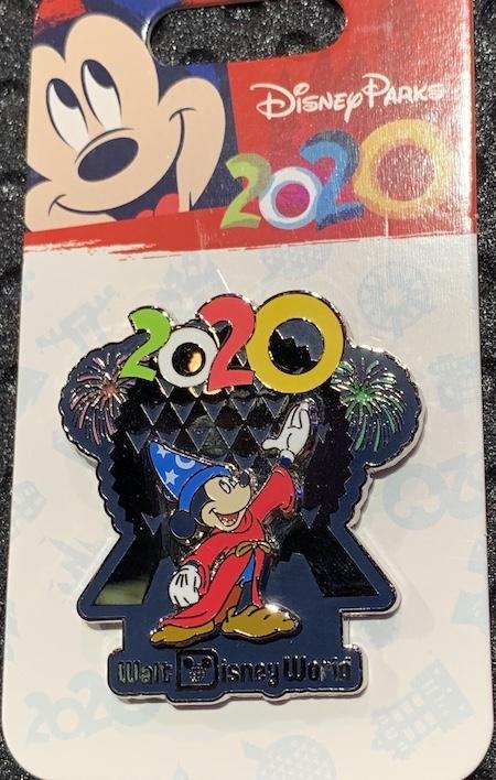 Sorcerer Mickey 2020 Walt Disney World Pin