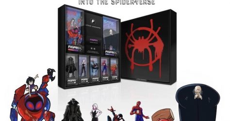 Spider-Man Into the Spider-Verse FiGPiN Box Set