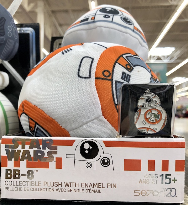 Star Wars BB-8 Plush & Pin - Walmart