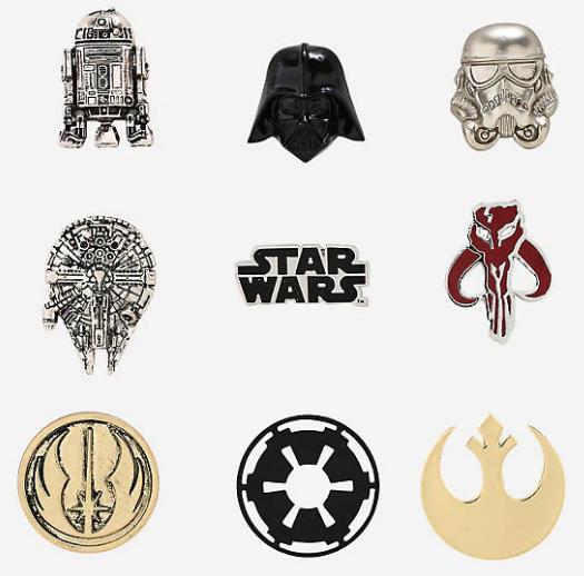 Star Wars Blind Box Pins at Hot Topic