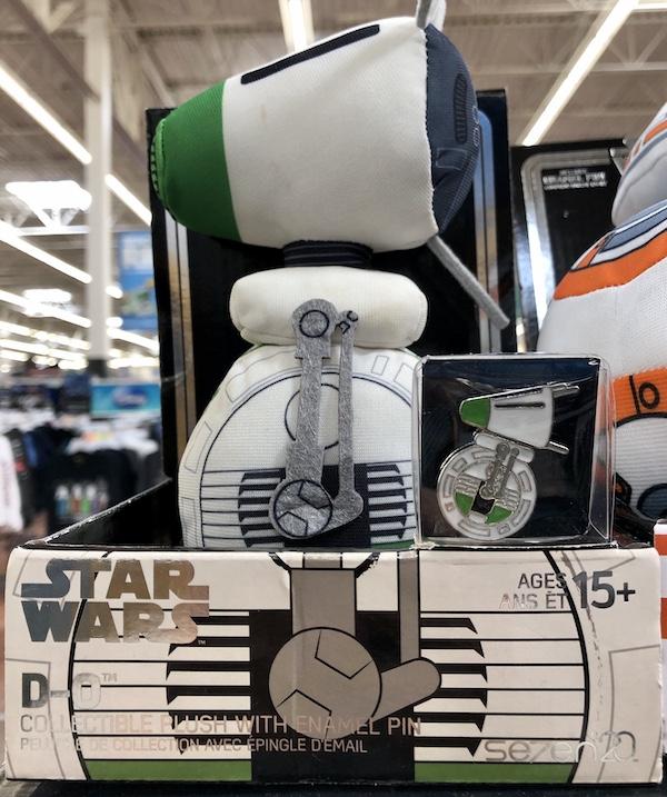 Star Wars D-O Plush & Pin - Walmart
