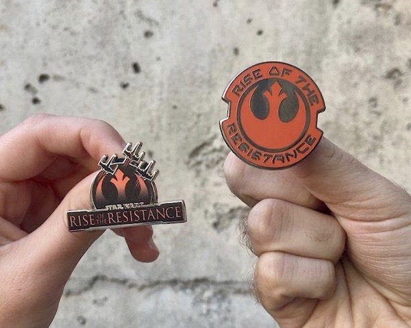 Star Wars Rise of the Resistance Disney Pins